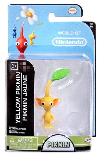 World of Nintendo Yellow Pikmin 2.5-Inch Mini Figure [Damaged Package]