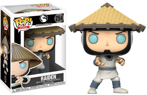 Funko Mortal Kombat POP! Games Raiden Vinyl Figure #254 [Damaged Package]