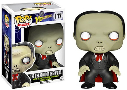 Funko Universal Monsters POP! Movies Phantom of the Opera Vinyl Figure #117 [Damaged Package]