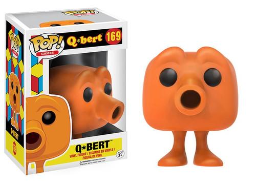 Funko POP! Video Games Q*Bert Vinyl Figure #169 [Damaged Package]