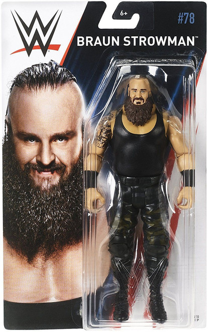 WWE Wrestling Series 78 Braun Strowman Action Figure [Damaged Package]