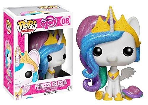 Funko POP! My Little Pony Princess Celestia Exclusive Vinyl Figure #08 [Glitter, Damaged Package]