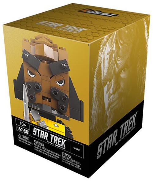 Mega Bloks Kubros Star Trek Worf Set [Damaged Package]