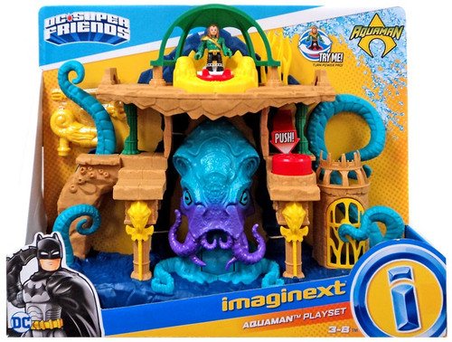Fisher Price DC Super Friends Imaginext Aquaman Playset [Damaged Package]