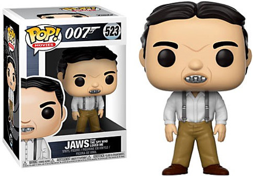 Funko James Bond 007 POP! Movies Jaws Vinyl Figure #523 [The Spy Who Loved Me, Damaged Package]