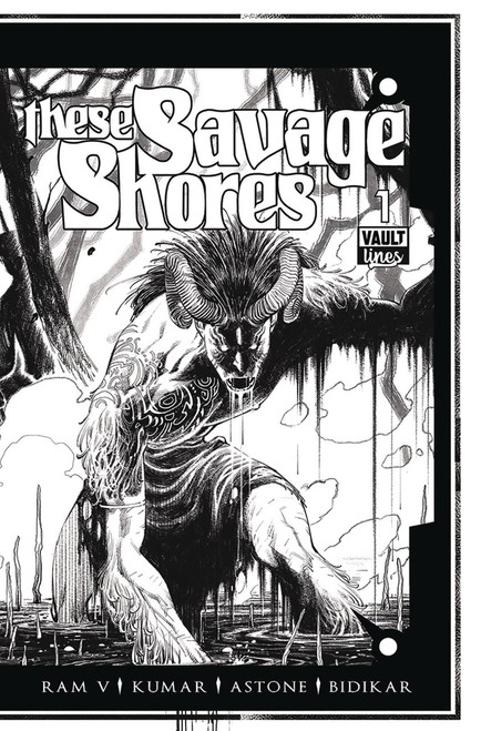 Vault Comics These Savage Shores Black & White Edition Comic Book