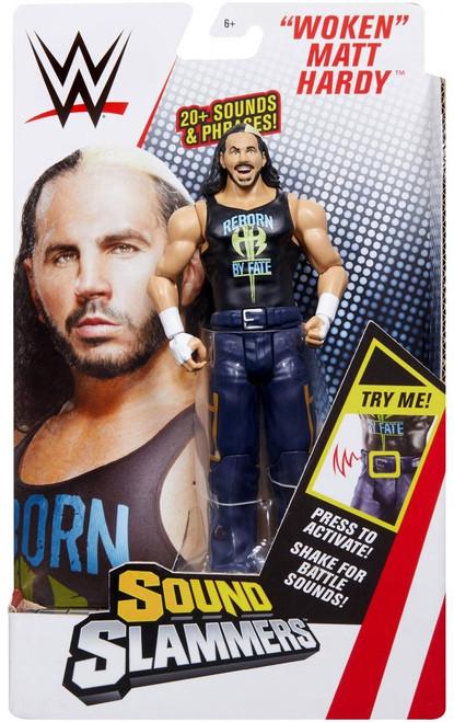 """WWE Wrestling Sound Slammers """"Woken"""" Matt Hardy Action Figure"""