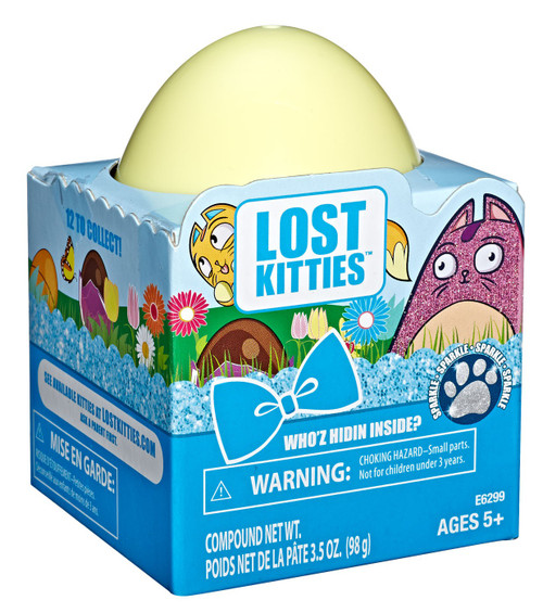 Lost Kitties Who'z Hidin Inside? Mystery Pack [Sparkle Special Edition]