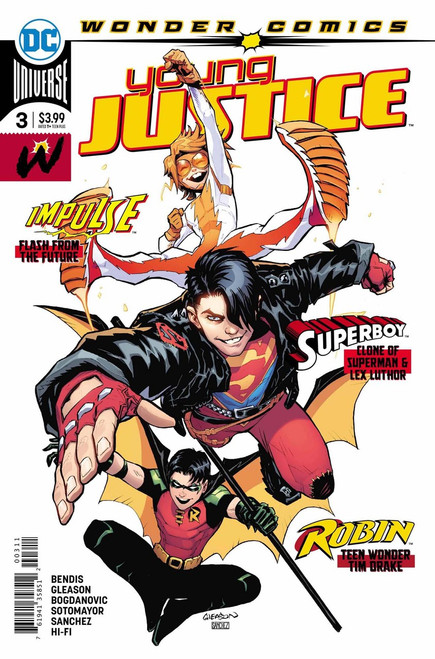 DC Young Justice #3 Comic Book