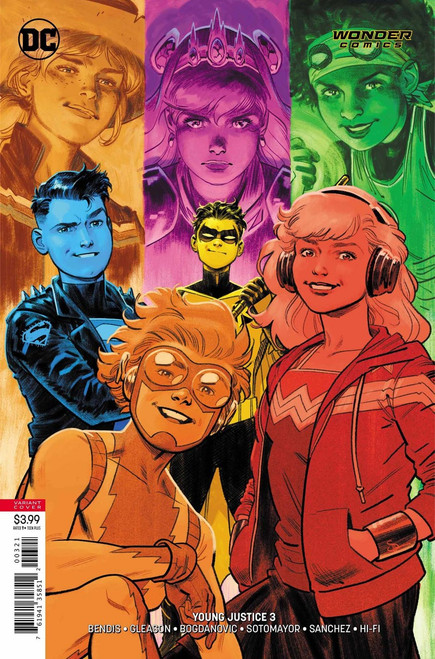DC Young Justice #3 Comic Book [Evan Shaner Variant Cover]