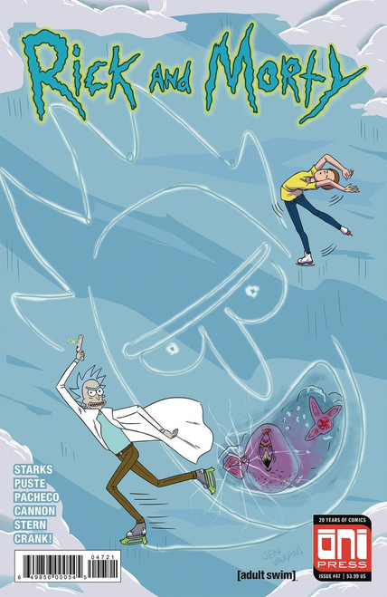 Oni Press Rick & Morty #47 Comic Book [Vaughn Cover B]