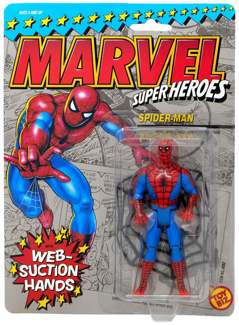 Marvel Super Heroes Spider-Man Action Figure [Web-Suction Hands]