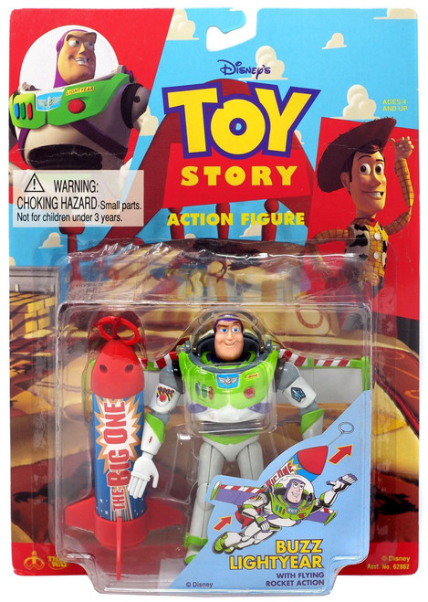 Toy Story Buzz Lightyear Action Figure [With Flying Rocket Action]