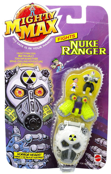Mighty Max Horror Heads Nuke Ranger Mini Playset