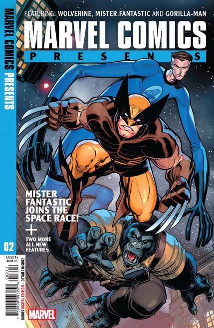 Marvel Comics Presents #2 Comic Book