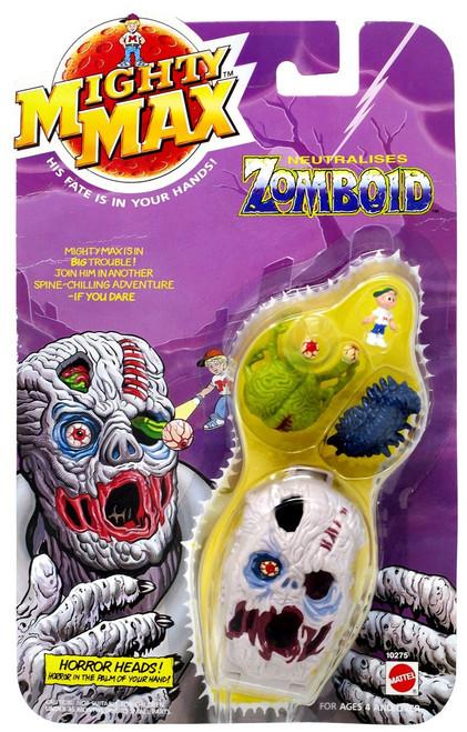 Mighty Max Horror Heads Zomboid Mini Playset