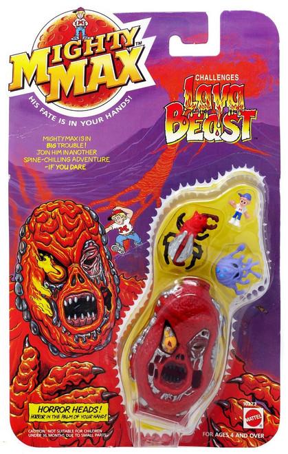 Mighty Max Horror Heads Lava Beast Mini Playset