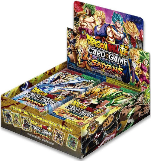 Dragon Ball Super Trading Card Game Series 7 Assault of the Saiyans Booster Box DBS-B07 [24 Packs]