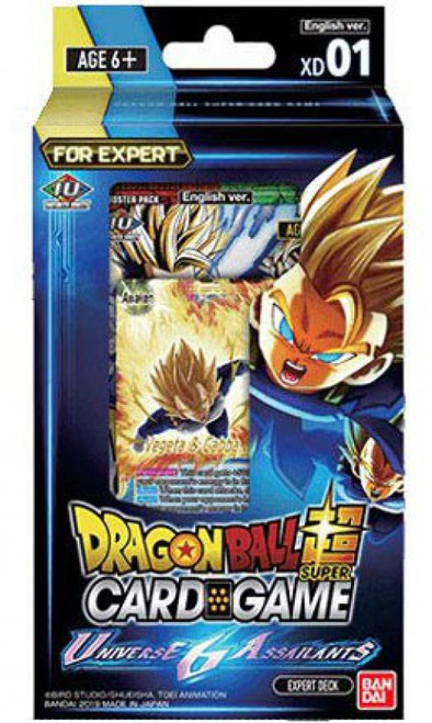 Dragon Ball Super Collectible Card Game XD 01 Expert Deck