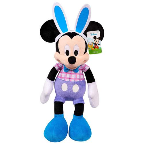 Disney 2019 Easter Mickey Mouse Plush [Purple Shorts, Plaid Shirt]