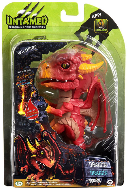 Fingerlings Untamed Dragon Wildfire Figure