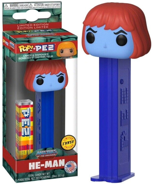 Funko Masters of the Universe POP! PEZ He-Man Candy Dispenser [Chase]