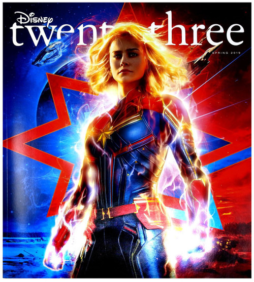 Disney Twenty Three Magazine [Captain Marvel]