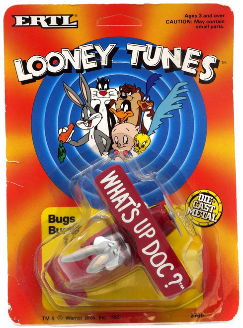 Looney Tunes Bugs Bunny BiPlane Diecast Vehicle