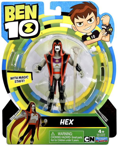 Ben 10 Basic Hex Action Figure [Magic Staff, Loose]