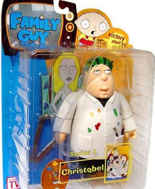 Family Guy Series 3 Christobel Action Figure [Damaged Package]