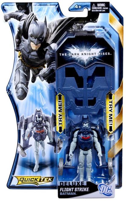 The Dark Knight Rises QuickTek Batman Action Figure [Flight Strike, Damaged Package]