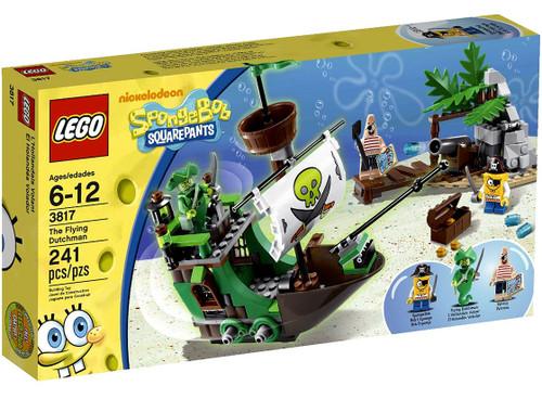 LEGO Spongebob Squarepants Flying Dutchman Set #3817 [Damaged Package]