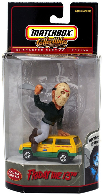 Matchbox Character Car Collection Movie Series Friday the 13th Diecast Vehicle