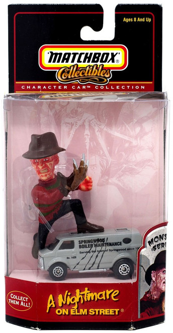 Matchbox Character Car Collection Movie Series A Nightmare on Elm Street Diecast Vehicle