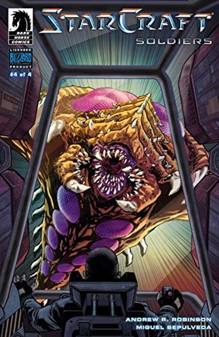 Dark Horse Starcraft Soldiers #4 of 4 Comic Book