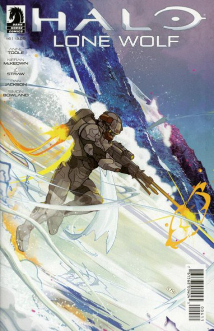 Dark Horse Halo: Lone Wolf #4 of 4 Comic Book