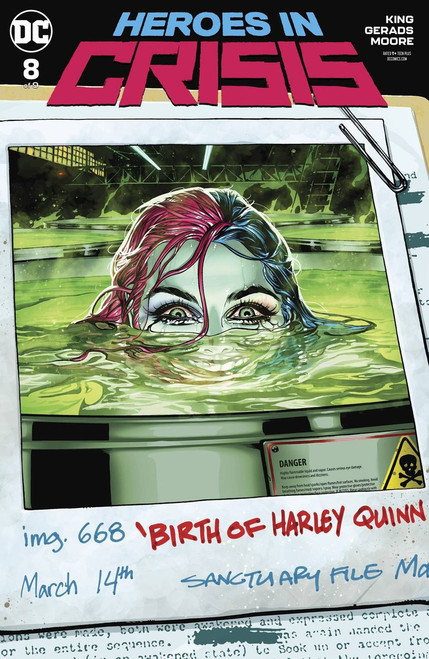 DC Heroes In Crisis #8 of 9 Comic Book [Ryan Sook Variant Cover]