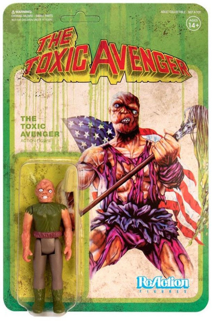 ReAction Toxic Avenger Action Figure [Movie Variant, Version 2]