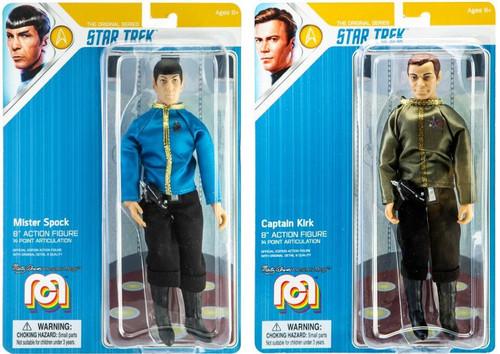 Star Trek Kirk & Spock Set of 2 Action Figures