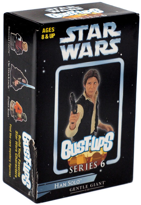 Star Wars Bust-Ups Series 6 Han Solo Micro Bust