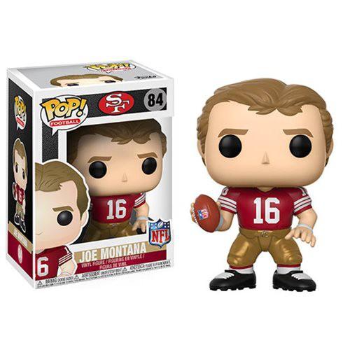 Funko NFL San Francisco 49ers POP! Sports Football Joe Montana Vinyl Figure #84