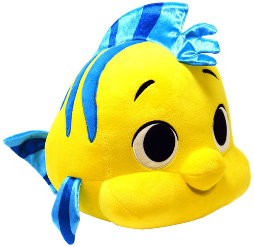 Funko Disney The Little Mermaid SuperCute Flounder Exclusive 12-Inch Medium Plush