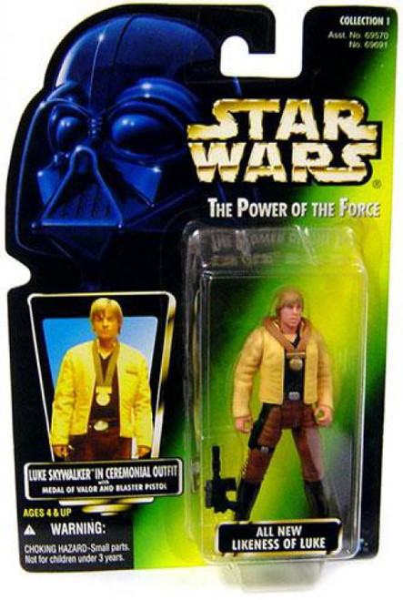 Star Wars A New Hope Power of the Force POTF2 Collection 1 Luke Skywalker Action Figure [Ceremonial Outfit]