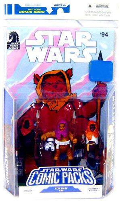 Star Wars Expanded Universe 2009 Comic Packs Machook, Keoulkeech & Kettch Exclusive Action Figure 3-Pack #94
