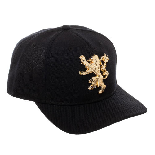 Game of Thrones House Lannister Gold Sigil Snapback Cap