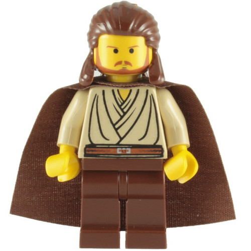 LEGO Star Wars Qui-Gon Jinn Minifigure [yellow head Loose]