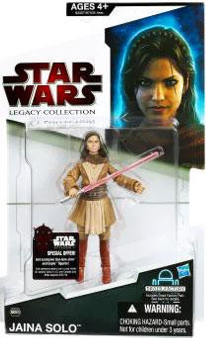 Star Wars Expanded Universe 2009 Legacy Collection Droid Factory Jaina Solo Action Figure BD60
