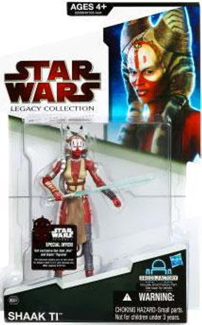 Star Wars Force Unleashed 2009 Legacy Collection Droid Factory Shaak Ti Action Figure BD61