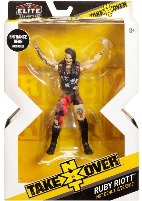 WWE Wrestling Elite NXT Takeover Ruby Riott Action Figure