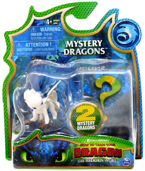 How to Train Your Dragon The Hidden World Mystery Dragons Light Fury Mystery 2-Pack